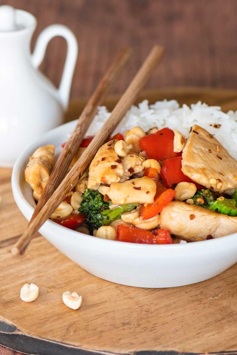 Kung Pao Chicken Recipe, Just Like Panda Express But Better!