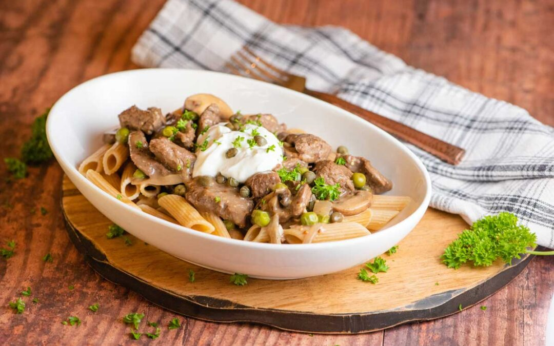 The Most Tender Beef Stroganoff Recipe for the Instant Pot or Stove Top