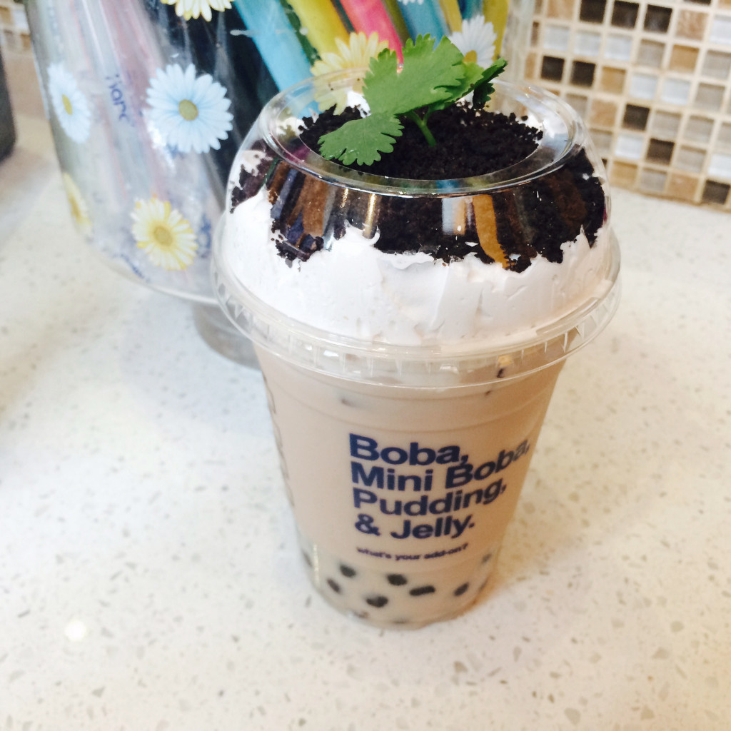 Potted Plant Milk Tea....my favorite naughty drink 3