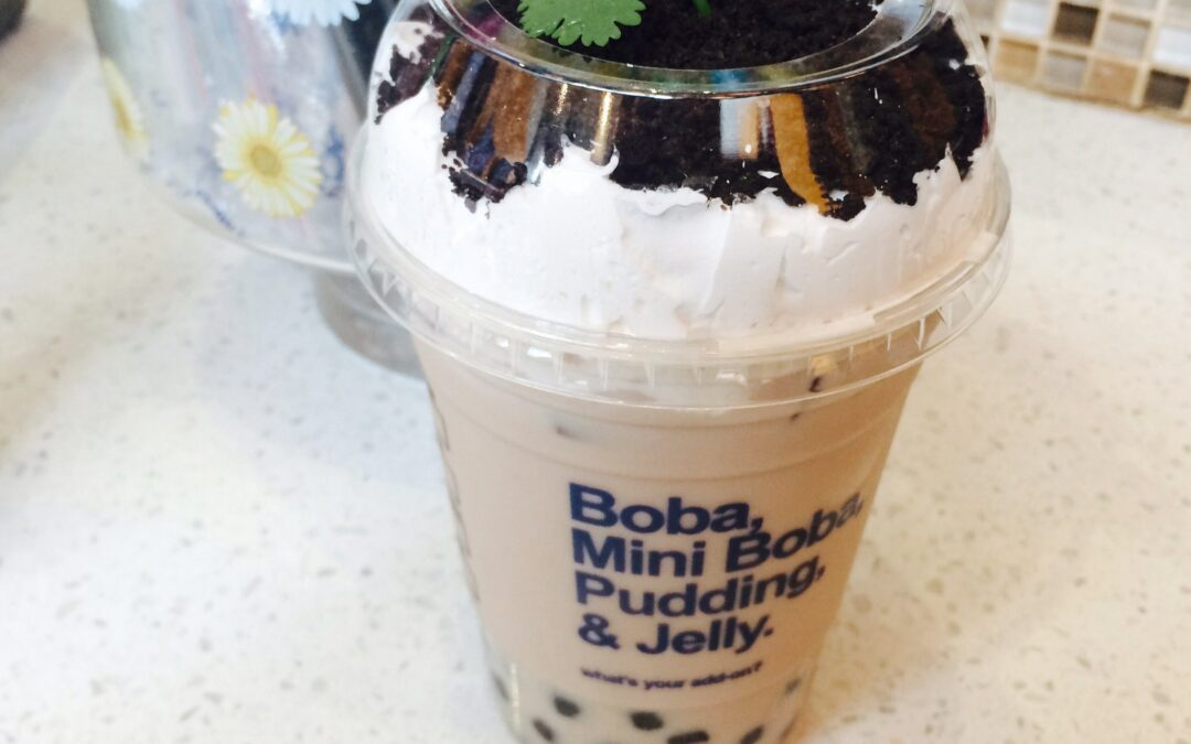 Potted Plant Milk Tea….my favorite naughty drink