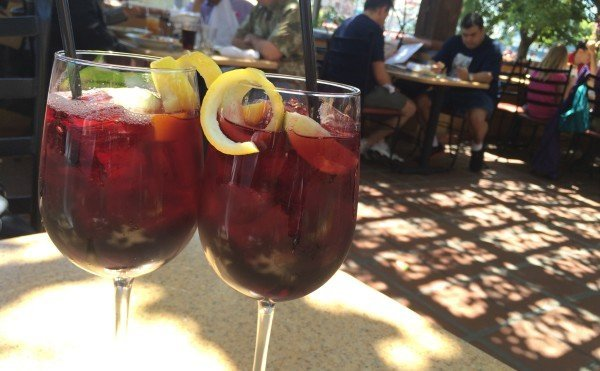 Sangria at Wine Country Trattoria