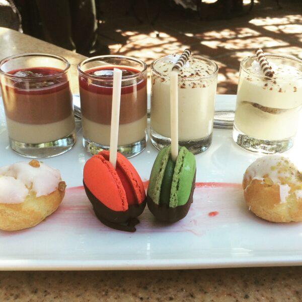 World of Color Sampler dessert