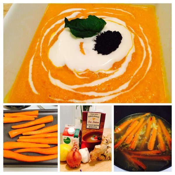 Carrot Ginger Soup Recipe 1