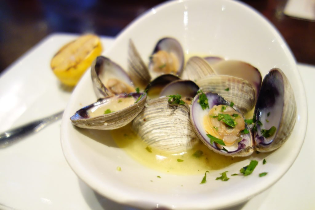 Bluewater Grill Clams
