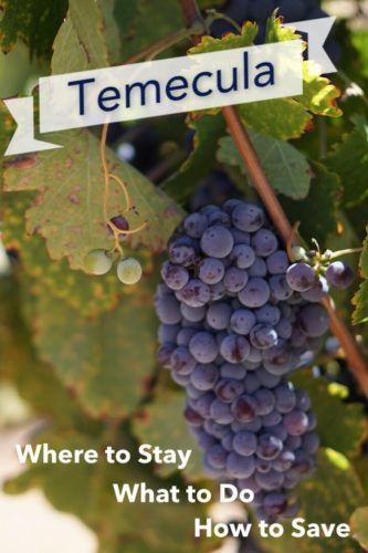 how to save in temecula