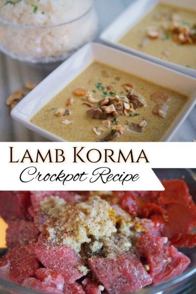 lamb korma recipe
