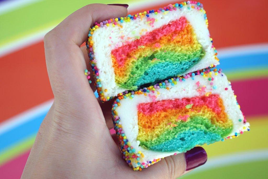 bcandy rainbow cake