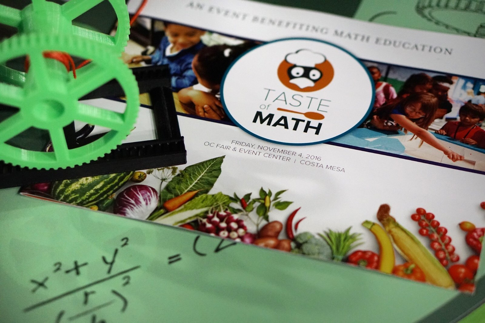 Taste of Math Combines Great Food for an Important Cause