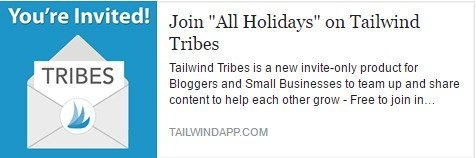 tailwind holiday tribe