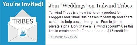 tailwind wedding tribe