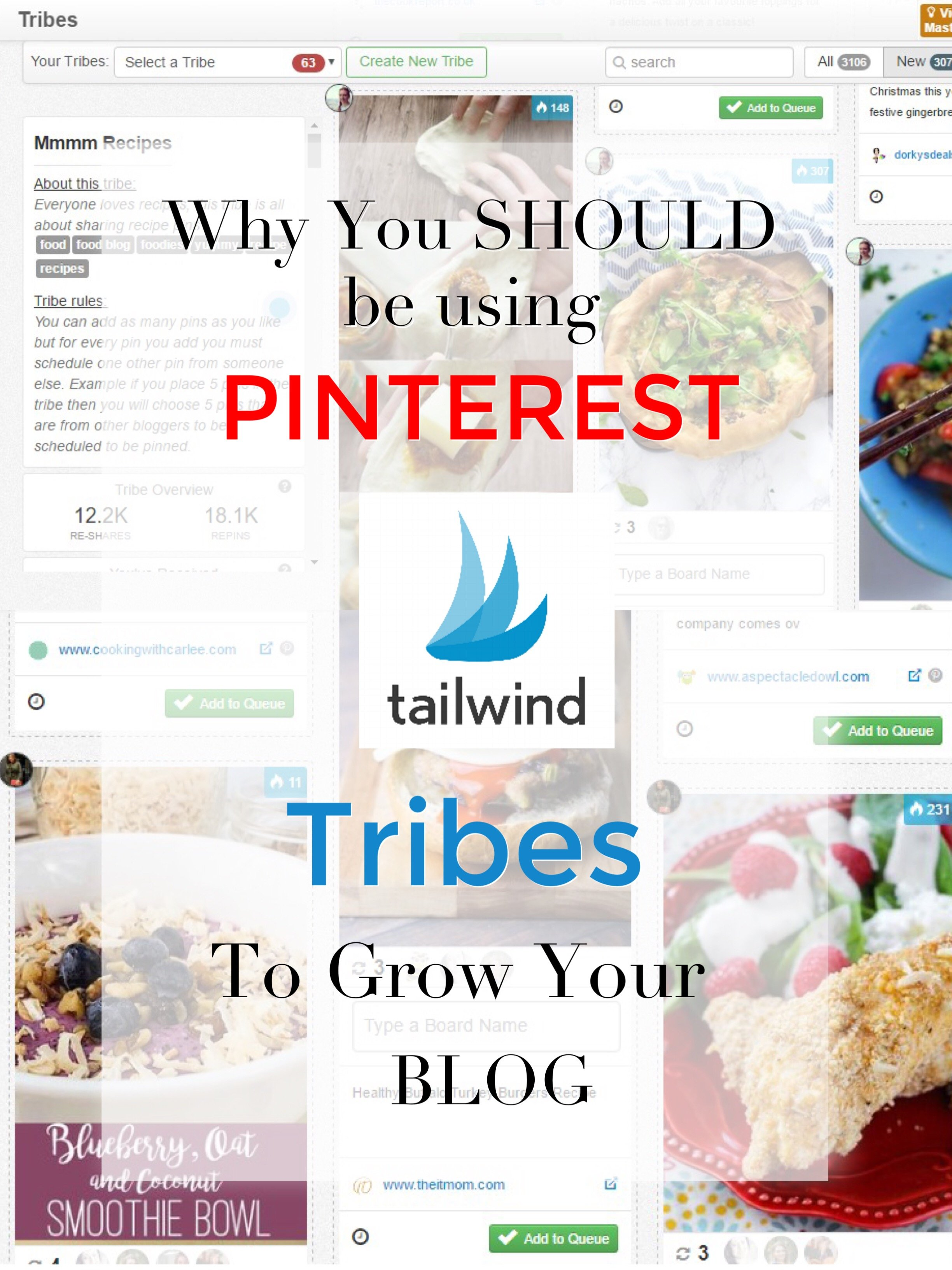 Why You Should Start Using Tailwind Pinterest Tribes to Grow Your Blog