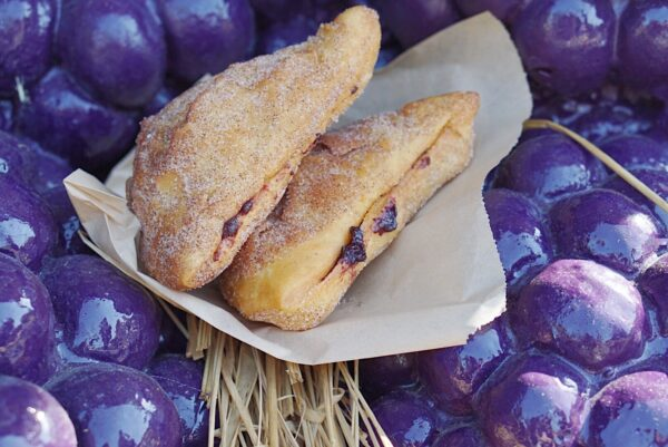 boysenberry fried bread