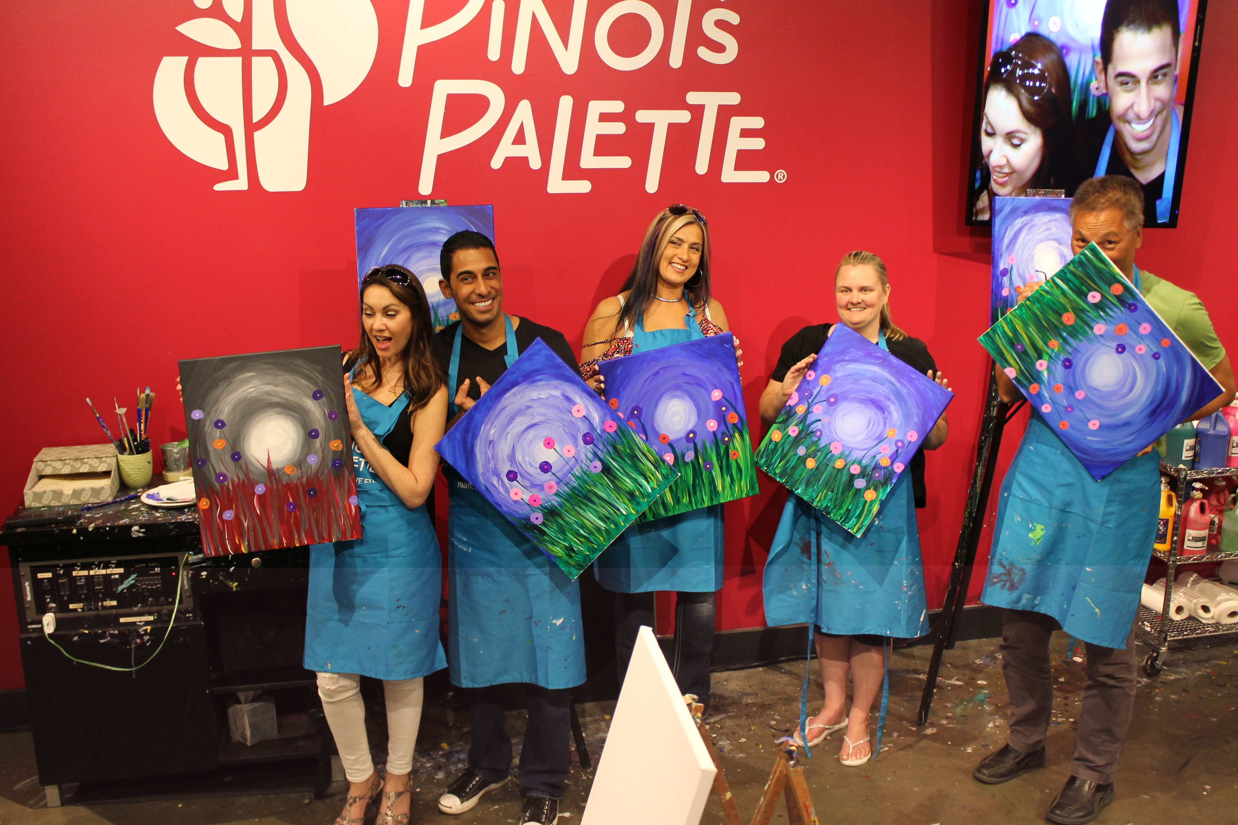 Plan the Perfect Night of Wine & Painting at Pinots Palette