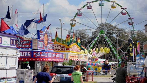 Enjoy Food & Rides Memorial Weekend at the Garden Grove Strawberry Festival