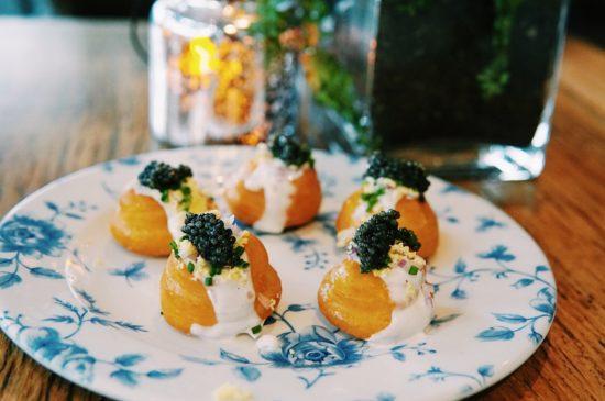 caviar puffs