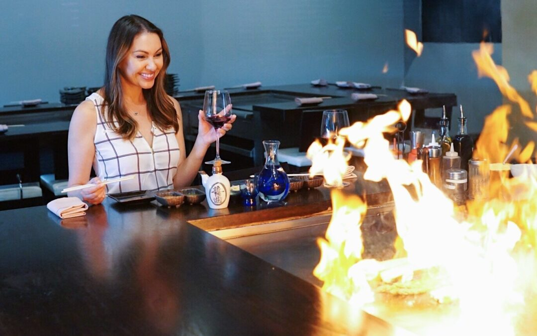 Move Over Benihana, There's a New Teppanyaki Spot in Orange County and It's On Fire!