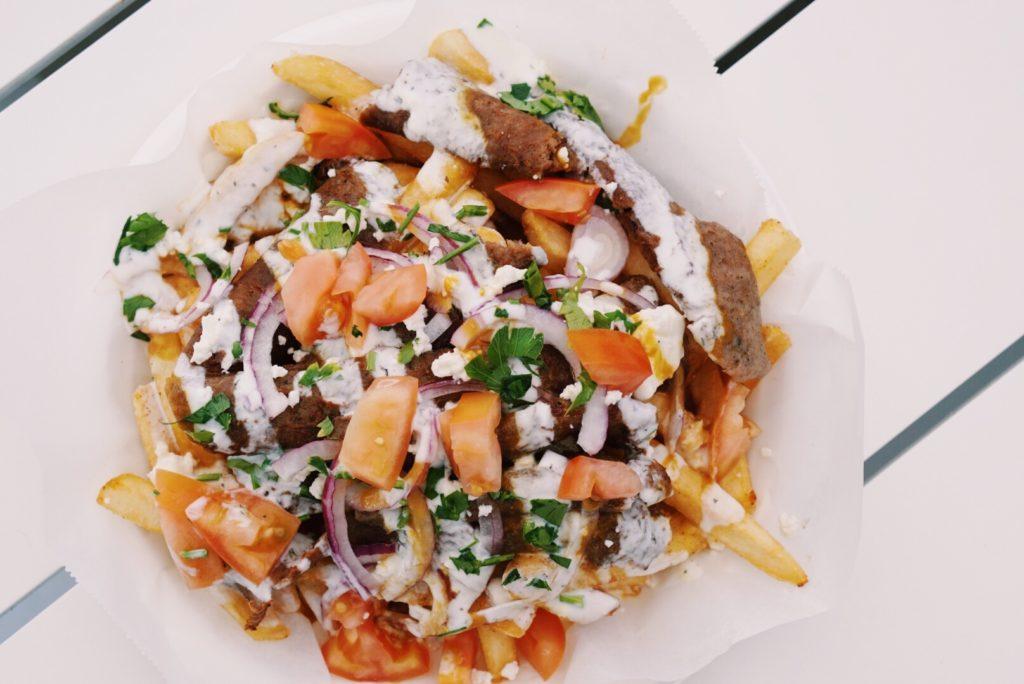 gyro king fries