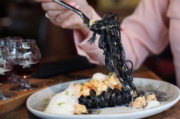 charcoal pasta