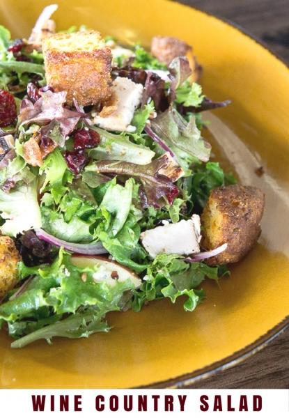 Wine Country Fall Salad Recipe