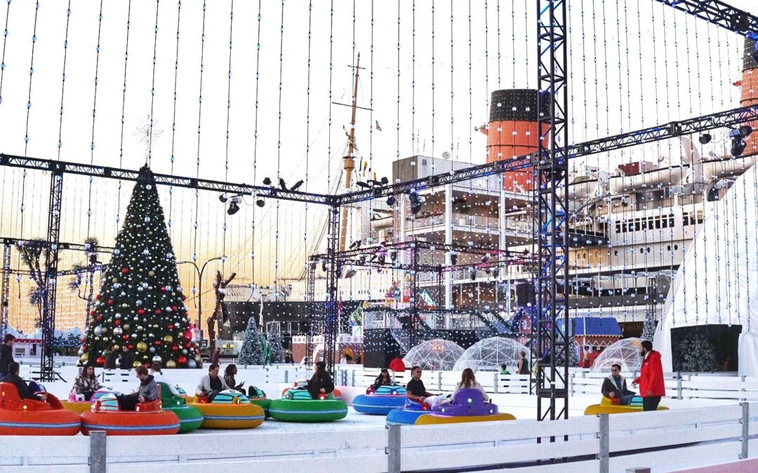 CHILL at the Queen Mary Unveils a New International Winter Wonderland