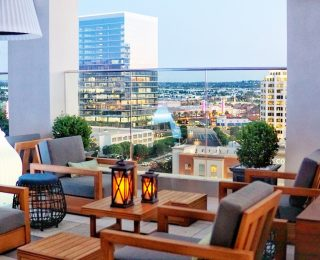 First Glance: Marriott's Hive and Honey is Irvine's First Rooftop Bar and It's Sweet!