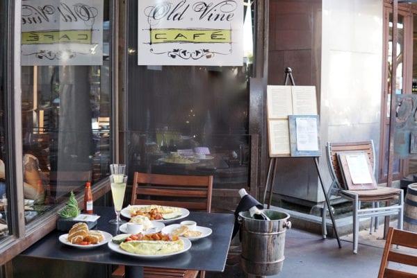 old vine cafe table
