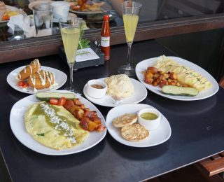 Old Vine Cafe in Costa Mesa Serves Unique Brunch Dishes With A Twist