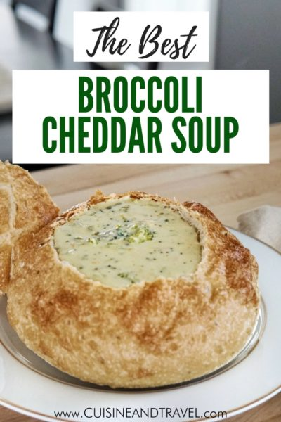 broccoli cheddar soup recipe pinterest