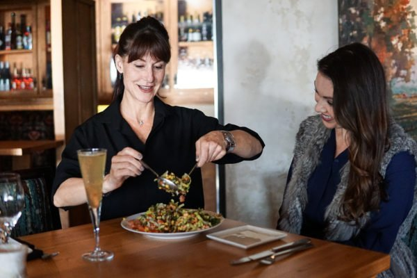 sapphire tea salad