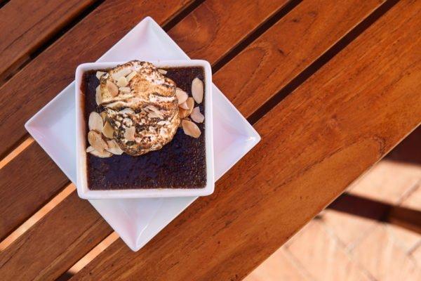 sapphire chocolate creme brulee
