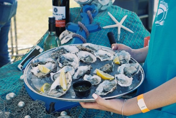 Taste of Huntington Oysters