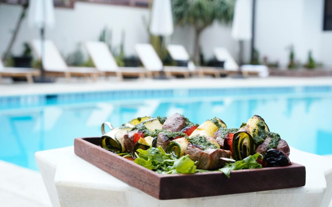 Veranda Restaurant at Hotel Figueroa Offers a Beautiful Hidden Mediterranean Oasis in Downtown L.A.