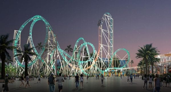 Hangtime at Knotts Berry Farm Opens as California's Only Dive Coaster and it's Terrifying! 1