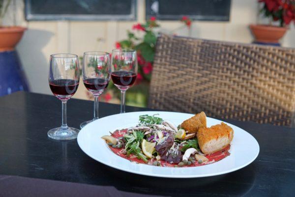 Meritage Restaurant Beed Carpaccio