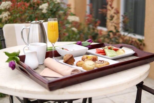 Carter Estate Breakfast