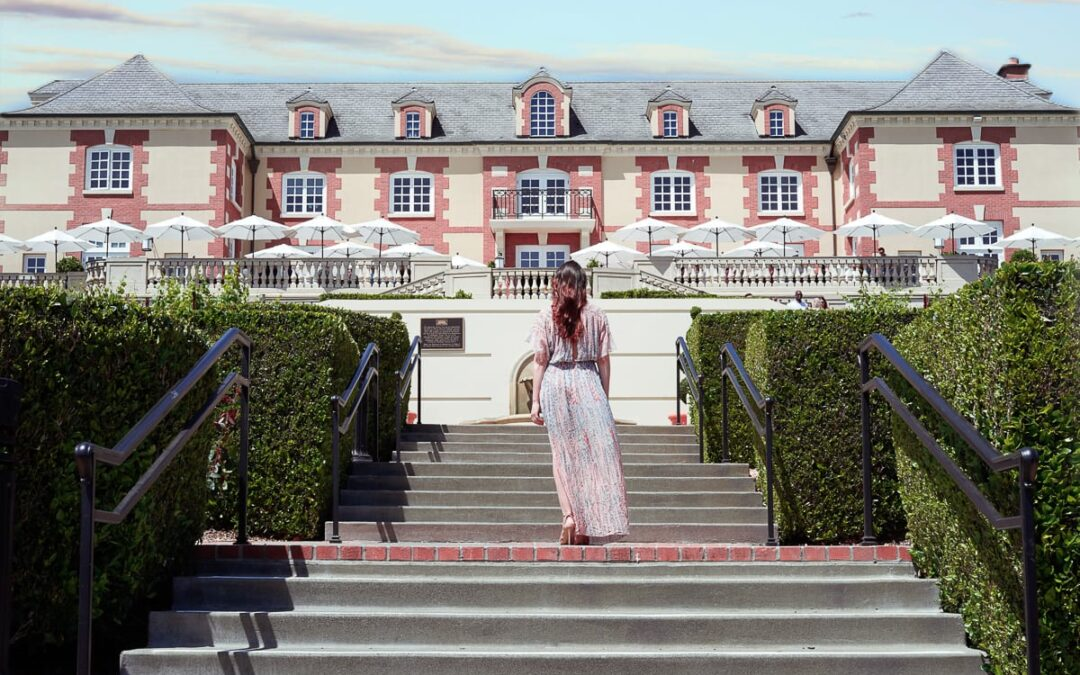 Sip on the Finest Sparkling Wine and Pinot Noirs at Domaine Carneros in Napa