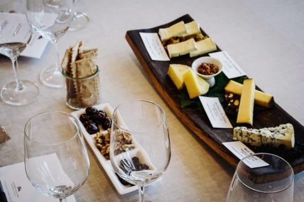 Hess Wine and Cheese