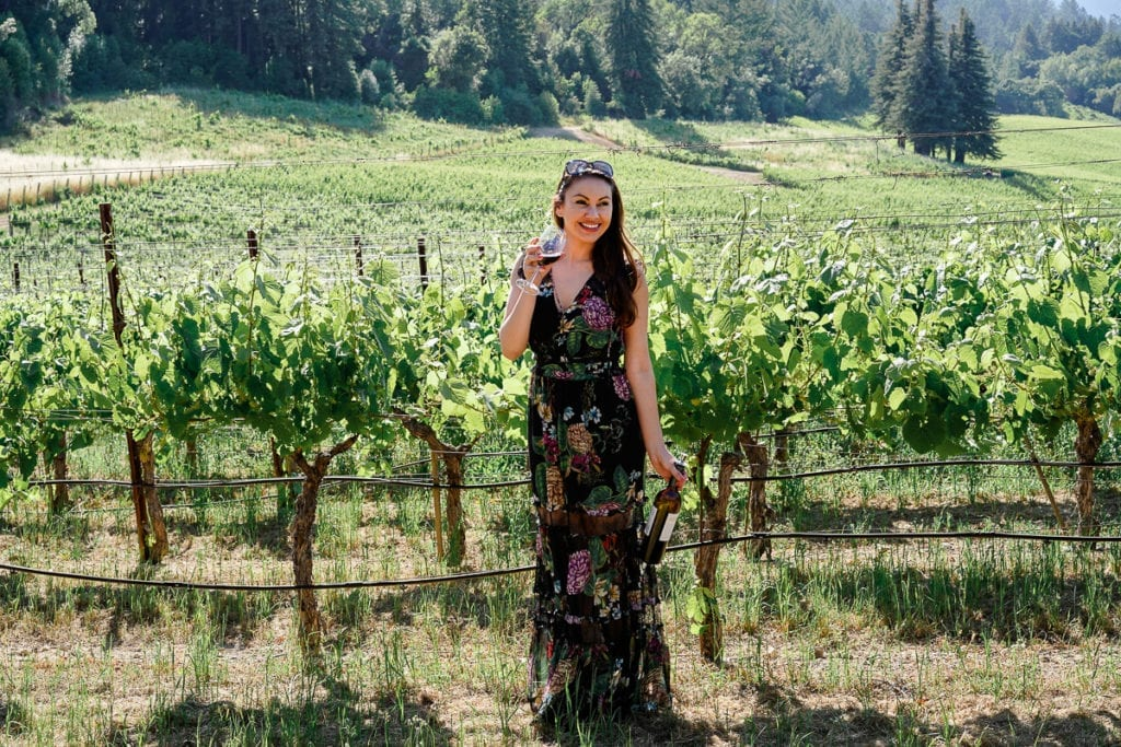 Hess Winery Cuisine and Travel