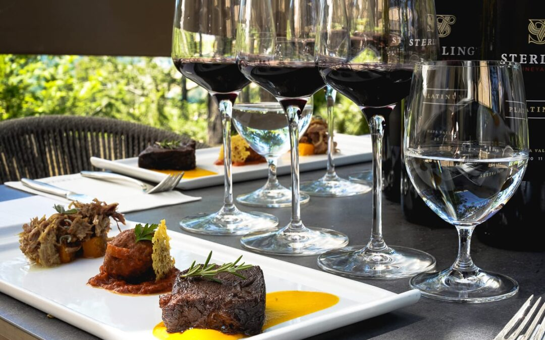 Enjoy A Scenic Sky Gondola Ride & Exquisite Pairings At Napa's Sterling Vineyards Winery
