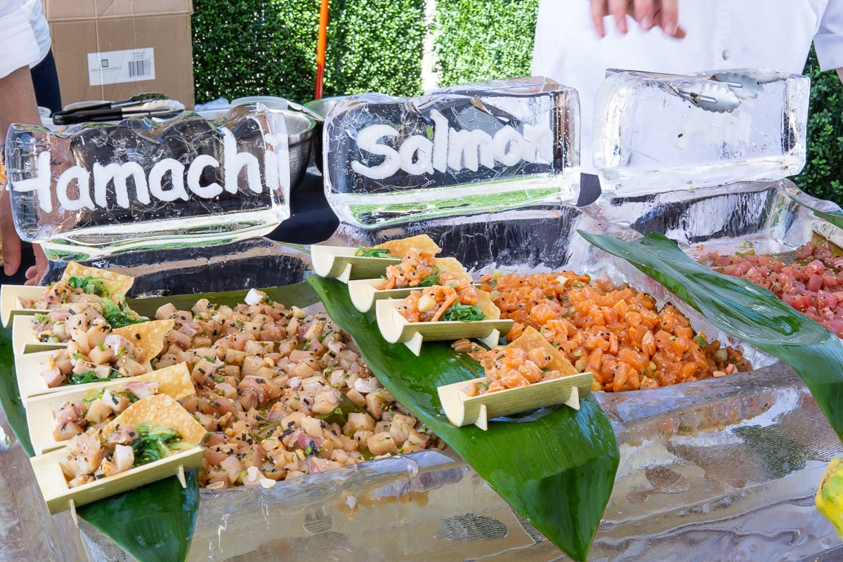 Pacific wine and food hamachi