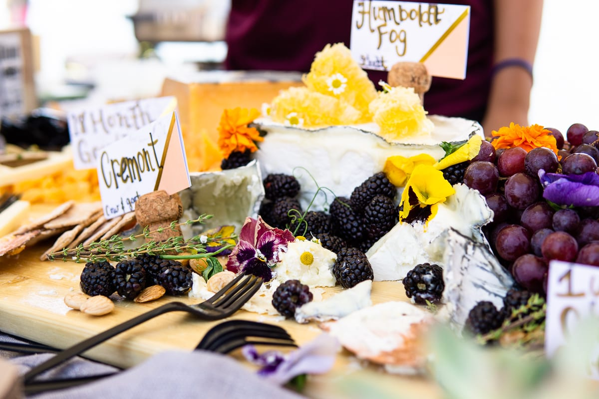 Pacific wine and food cheese