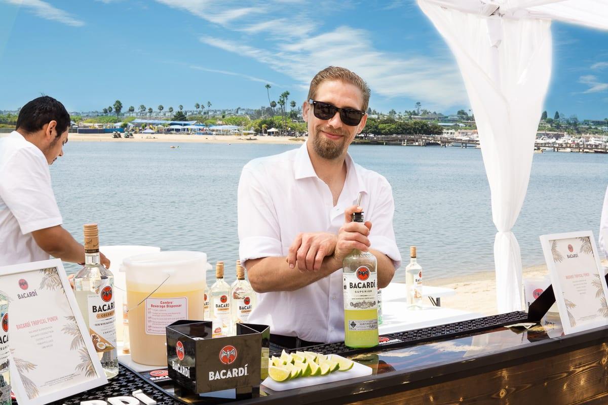 Pacific wine and food bacardi
