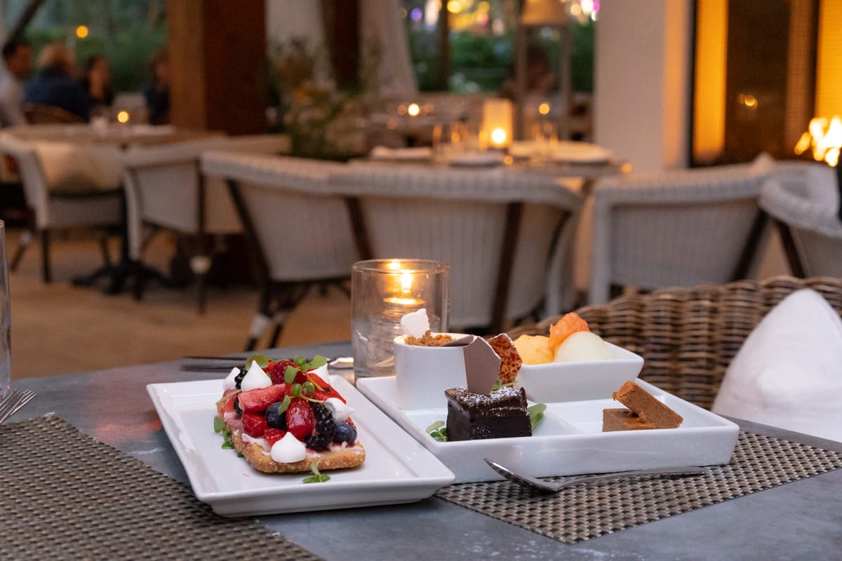 fig and olive dessert