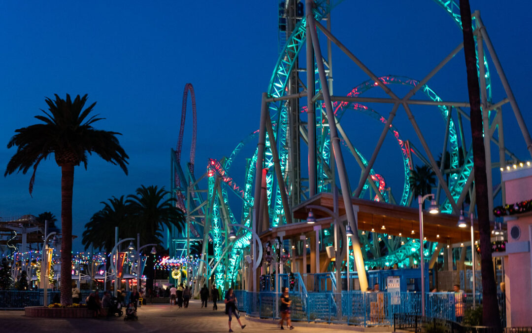 Hangtime at Knotts Berry Farm Opens as California's Only Dive Coaster and it's Terrifying!