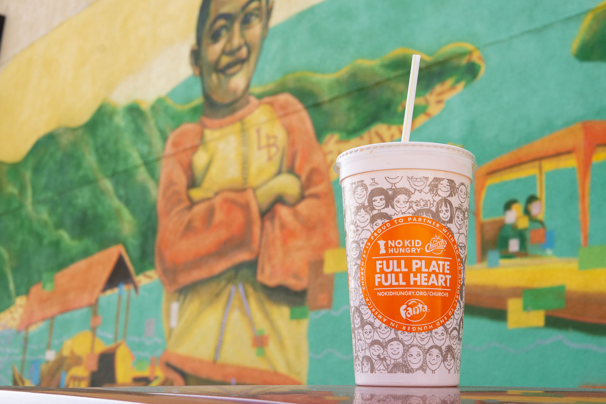 Church's Chicken Partners with No Kids Hungry to Help Stop Child Hunger. 1