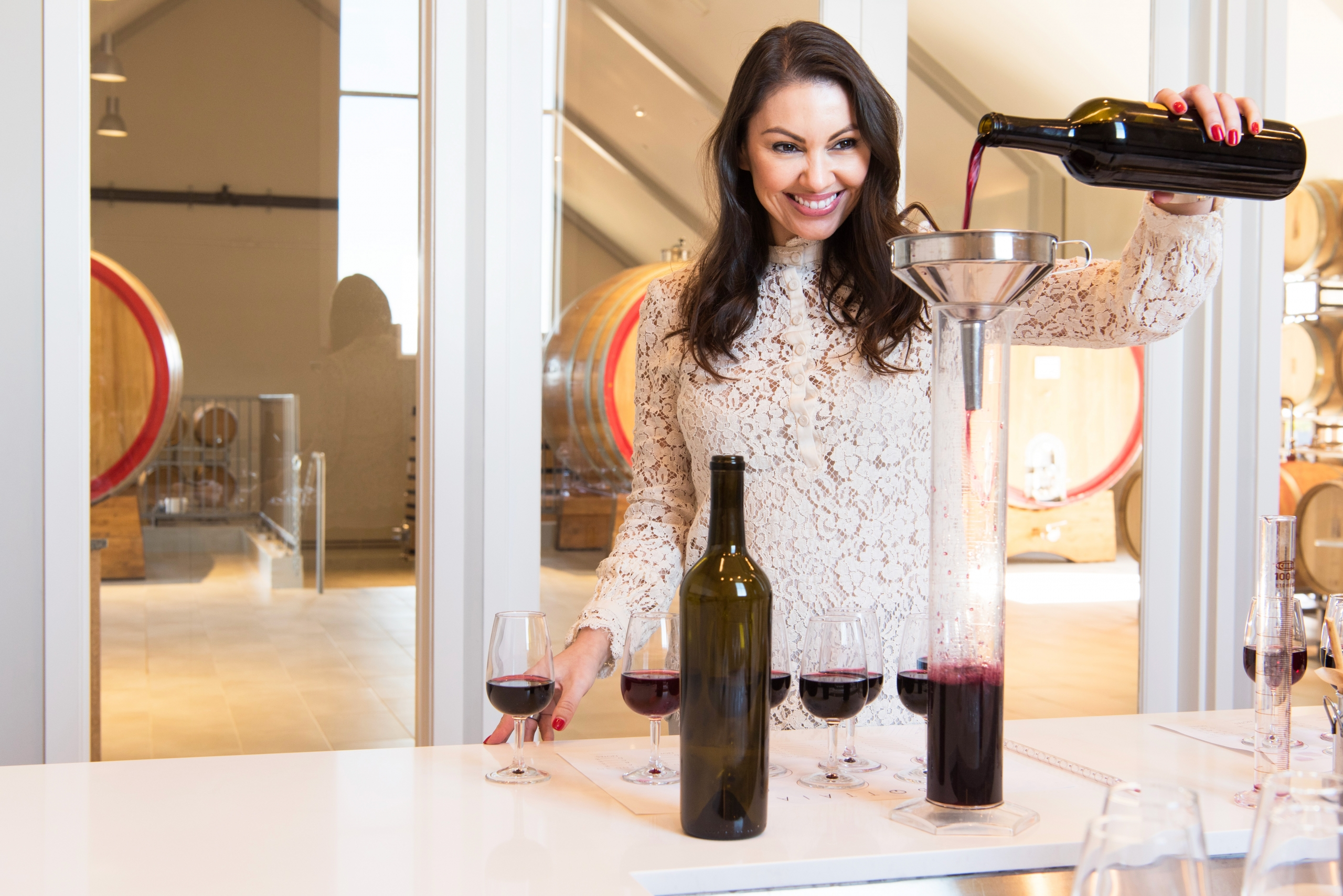 Make Your Own Wine Blend Straight From the Barrel at Bottaia Winery in Temecula