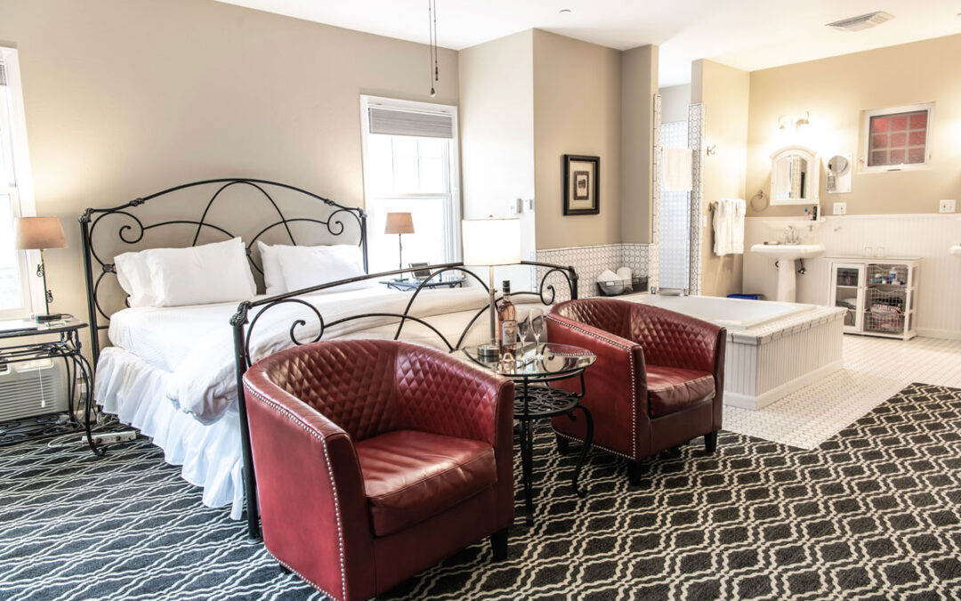 Gourmet Meets Bed and Breakfast at Napa's Inn on First