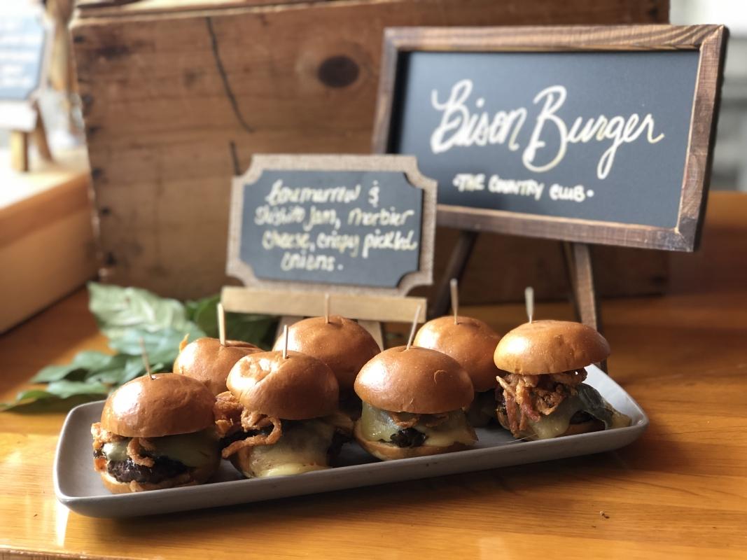 OC Restaurant Week Bison Burger