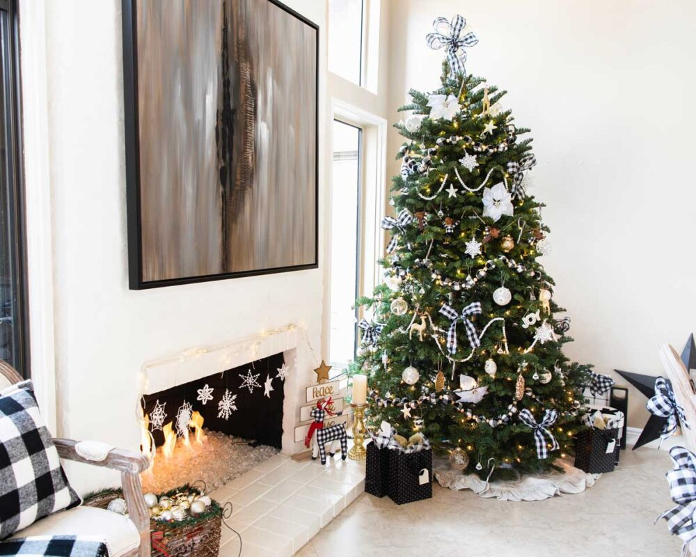 Black-and-white-Christmas-Theme-Ideas