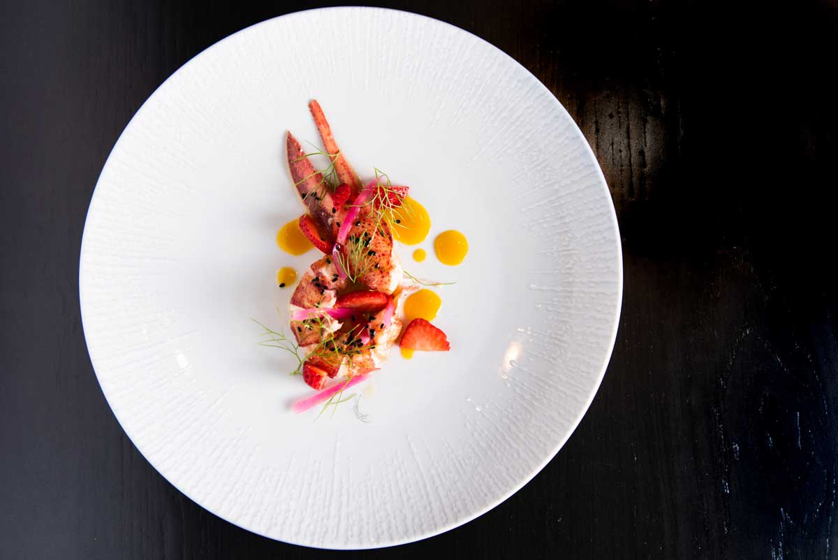 Bello-poached-lobster